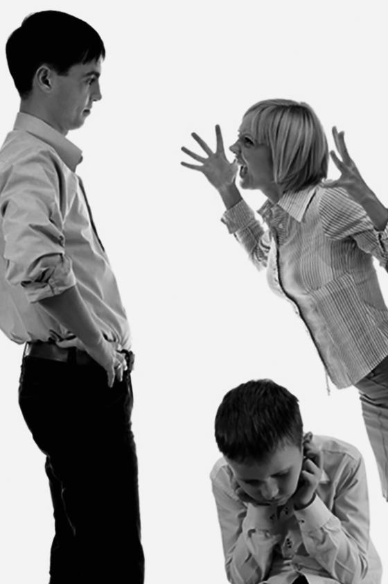 Дети - жертвы развода.